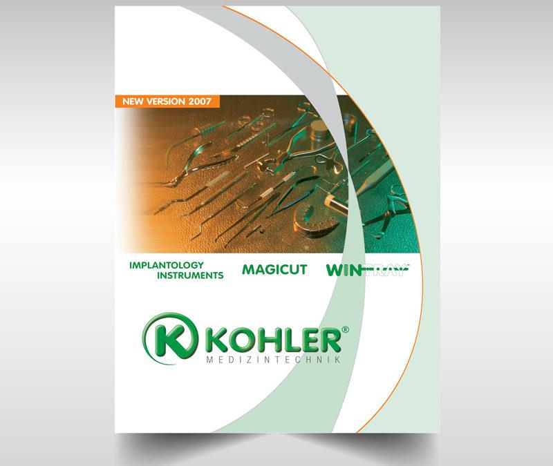 Catálogo de Implantología dental KOHLER